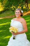 Beautiful Bride Wedding Day Royalty Free Stock Photography