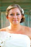 Beautiful Bride Wedding Day Stock Photography