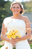 Beautiful Bride Wedding Day Royalty Free Stock Images