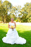 Beautiful Bride Wedding Day Stock Photo