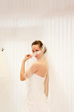 Beautiful Bride. Stock Photos