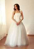 Beautiful bride in white wedding dress mariage Stock Photos