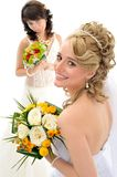 Beautiful brides Royalty Free Stock Photos