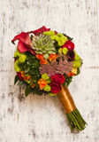 Beautiful brides bouquet Royalty Free Stock Image