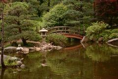 A Bridge in a Serene Setting Royalty Free Stock Photos