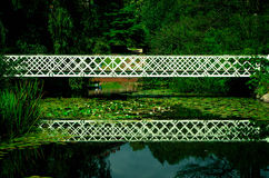 Beautiful bridge reflection, Copenhagen Royalty Free Stock Photos