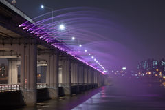 Beautiful bridge in South Korea Stock Photos