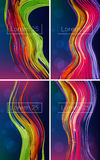 Beautiful Bright Abstract Backgrounds Royalty Free Stock Photos