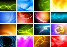 Beautiful bright backdrops Stock Photo