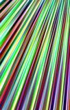 Beautiful bright background of colored strips  diverge from the top to the bottom. Abstract unique. Illustration and decoration. Blue and  green, white and red Royalty Free Stock Photography