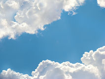 Beautiful bright blue sky Royalty Free Stock Photography