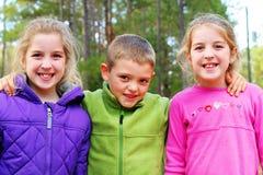 Beautiful bright children Stock Photos