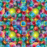 Beautiful bright circles psychedelic background Royalty Free Stock Images
