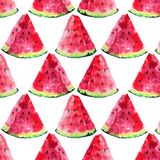Beautiful bright colorful delicious tasty yummy ripe juicy cute lovely red summer autumn fresh dessert slices of watermelon patter Royalty Free Stock Photo