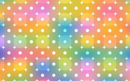 Beautiful bright and colorful repeating pattern for shining festive designs Royalty Free Stock Image