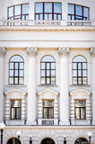 Beautiful bright facade classical architecture Royalty Free Stock Photography