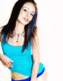 Beautiful bright fresh woman Stock Images