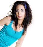 Beautiful bright fresh woman Stock Photo