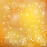 Beautiful  bright golden  holiday background Royalty Free Stock Images