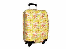 Beautiful bright luggage bag Stock Image