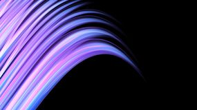 Beautiful bright motley purple pink abstract energetic magical cosmic fiery neon texture from lines and stripes, waves, flames. With curves and twists on a royalty free illustration