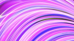Beautiful bright motley purple pink abstract energetic magical cosmic fiery neon texture from lines and stripes, waves, flames. With curves and twists on a vector illustration
