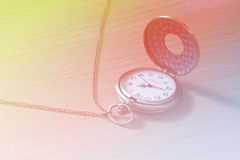 Beautiful bright old watch Stock Photography