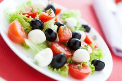 Beautiful and bright salad for good health Royalty Free Stock Photos
