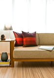 Beautiful bright seating area Stock Photography