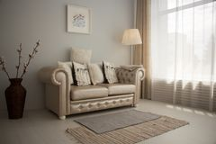 Soft and light interior royalty free stock photos