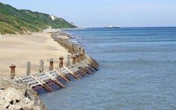 Beautiful british beach Stock Image