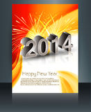 Beautiful brochure celebration colorful reflection Stock Photos
