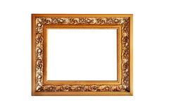 Beautiful bronze frame Stock Images