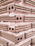 Beautiful Brown bricks Royalty Free Stock Photos