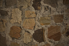 Beautiful Brown concrete wall Stock Photography