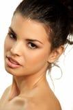 Beautiful brown eyed girl Stock Photo