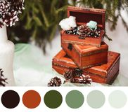 New year palette royalty free stock images