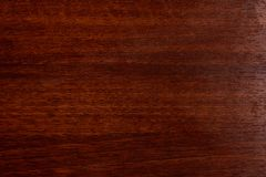 Beautiful brown wood background on lacquered textured plywood royalty free stock photo