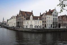 Beautiful Brugge panoramic view Stock Photography