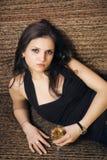 Beautiful brunet woman Stock Photography