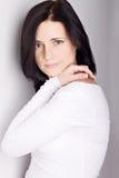 Beautiful  brunet woman Royalty Free Stock Photography