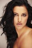 Beautiful brunett model Stock Image