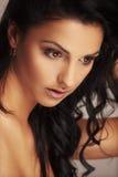 Beautiful brunett model Royalty Free Stock Photography
