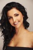 Beautiful brunett model Stock Images