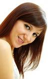 Beautiful brunette Stock Photos