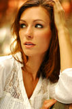 Beautiful brunette Stock Image