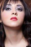Beautiful brunette Stock Images