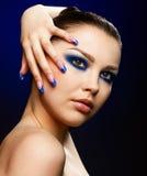 Beautiful brunette Stock Photography