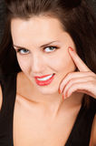 Beautiful brunette Royalty Free Stock Images