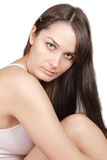 Beautiful brunette Royalty Free Stock Photo